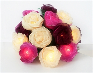 Picture of Burgundy Rose Mix