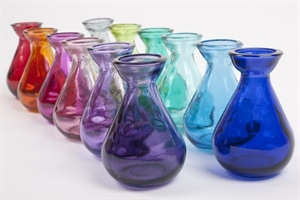 Picture of Coloured Glass Bud Vase