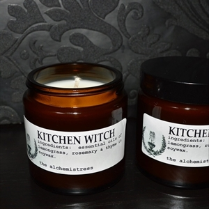 Picture of The Alchemistress Soy Wax Candles - Kitchen Witch Apothecary Jar