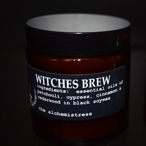 Picture of The Alchemistress Soy Wax Candles - Witches Brew Apothecary Jar