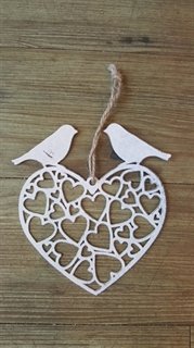 Picture of Hanging Metal Heart