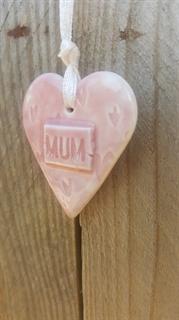 Picture of Ceramic Heart - Mum
